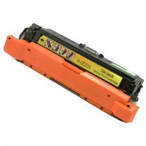 Laser Toner Cartridge 504A Yellow CE252A Compatible For HP Colour LaserJet CM3530 3525 Printer