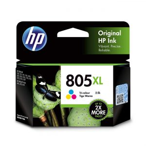 HP 805XL High Yield Tri-color Original Ink Cartridge (3YM70AA)