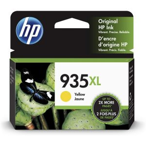 HP 935XL High Yield Yellow Original Ink Cartridge (C2P26AA)