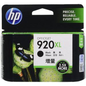 HP 920XL High Yield Black Original Ink Cartridge (CD975AA)