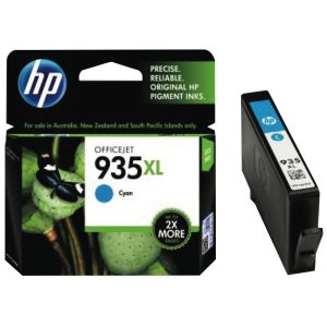 HP 935XL High Yield Cyan Original Ink Cartridge (C2P24AA)