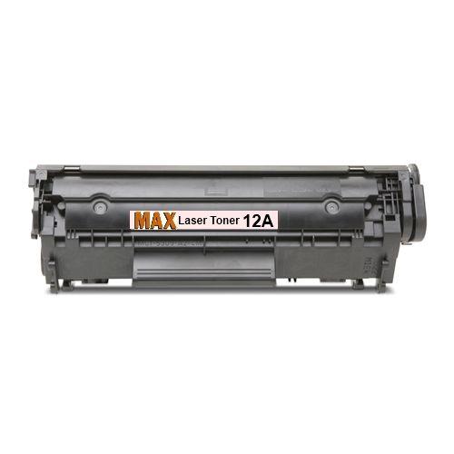 Max 12A (Q2612A) Compatible Toner Cartridge For HP LaserJet Printer (OEM Pack)