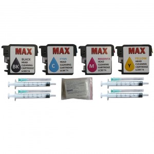 Max Print Head Cleaning Kit T4 With 50ML Solution LC39 For Brother DCPJ125 DCPJ315W DCPJ515W MFCJ265W MFCJ410 MFCJ415W Printer